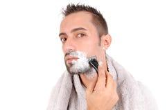 Shaving Royalty Free Stock Photo