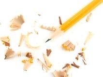 shavings карандаша Стоковые Фотографии RF
