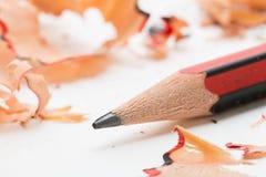 shavings карандаша руководства Стоковое Изображение RF