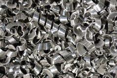 shavings металла стоковая фотография rf