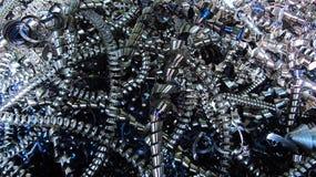 Shavings металла Стоковые Фотографии RF