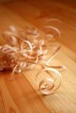 shavings деревянные Стоковые Фото