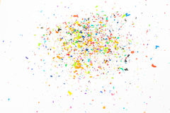 Shavings Crayon Стоковое Изображение RF