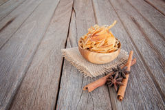 Shavings of dried bonito,Japanese food. Stock Images
