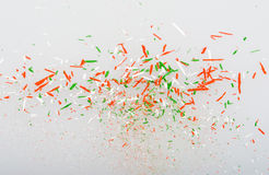 Shavings of pencils Stock Photography