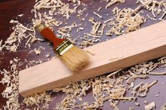 Shavings of wood, Royalty Free Stock Photo