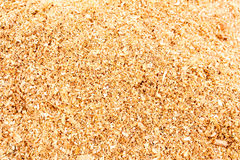 Shavings in workshop wood sawdust texture background Royalty Free Stock Photo