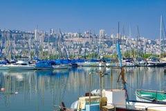 Shavit Anchorage, Haifa Stock Image