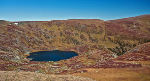 Shavlinskoe lake in the Altai mountains Royalty Free Stock Photos