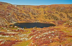 Shavlinskoe lake in the Altai mountains Royalty Free Stock Photography