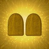 shavuot Concept Judaic vakantie Tabletten van de Overeenkomst royalty-vrije illustratie