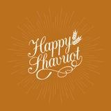 Shavuot felice calligrafico Fotografia Stock