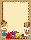 Shavuot kids Blank Sign Stock Photo