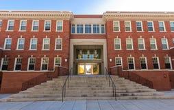 Shaw Hall i kwadrat przy UNCG fotografia stock