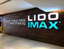 Shaw Theatres Lido IMAX Royalty Free Stock Image