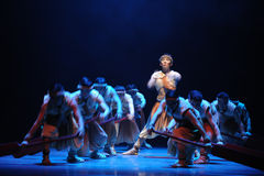 Дракона шлюпки гонки- поступок во-вторых событий драмы-Shawan танца прошлого Стоковая Фотография