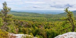 Shawangunk Ridge Panorama Royalty Free Stock Images
