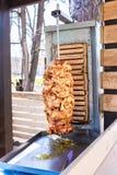 Shawarma один из популярного фаст-фуда стоковое фото