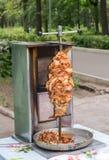 Shawarma один из самого популярного фаст-фуда стоковая фотография