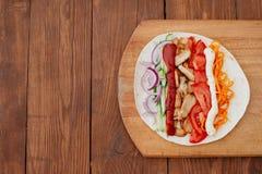 Shawarma Стоковое Изображение