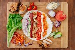 Shawarma Стоковая Фотография