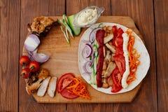 Shawarma Стоковая Фотография RF