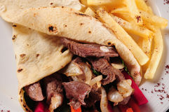 Shawarma. Royalty Free Stock Images