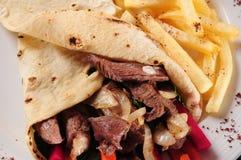 Shawarma. royalty free stock images