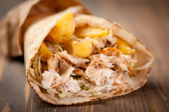 Shawarma Fotos de Stock Royalty Free