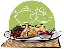 shawarma Zdjęcia Stock