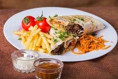 Shawarma Stockbild