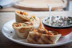 Shawarma armênio fotografia de stock