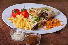 Shawarma Royalty Free Stock Photography