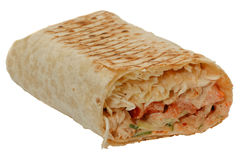 Shawarma fresco e saporito tradizionale orientale Fotografie Stock