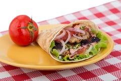 Shawarma prêt Photos stock