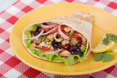 Shawarma pronto Fotos de Stock