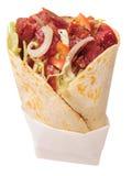 Shawarma sandwich. stock image