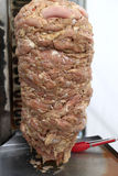 Shawarma on a spit Royalty Free Stock Photo