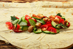 Shawarma Royalty Free Stock Photography