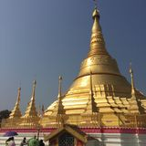 Shawedagon royalty-vrije stock foto