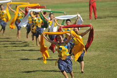 Shawl Dance in indonesia Stock Photography