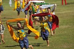 Shawl Dance in indonesia Stock Photos
