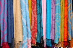 Shawl On Display Royalty Free Stock Photography