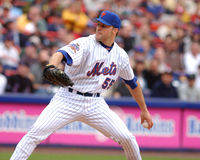 Shawn Estes. New York Mets pitcher Shawn Estes #55. (image taken from color slide royalty free stock photos