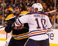 Shawn Horcoff Edmonton Oilers Lizenzfreies Stockbild