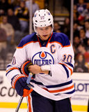 Shawn Horcoff Edmonton Oilers Royalty Free Stock Image