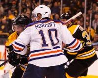 Shawn Horcoff Edmonton Oilers Stock Photo