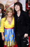 Shawn Johnson and Mitchel Musso Stock Images