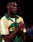 Shawn Kemp, Seattle Sonics Obrazy Stock