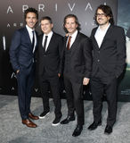 Shawn Levy. And co-producers at the Los Angeles premiere of `Arrival` held at the Regency Village Theater in Westwood, USA on November 6, 2016 Stock Photography